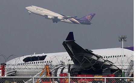 Thai Airways covers logo