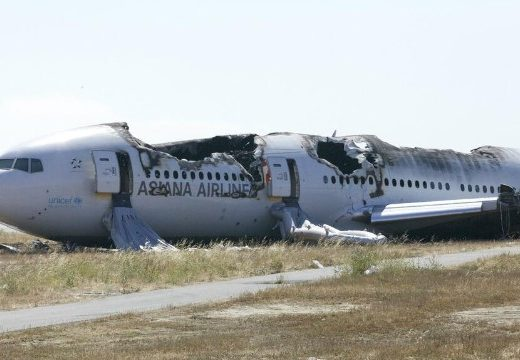 Asiana Flight 214 Wreckage