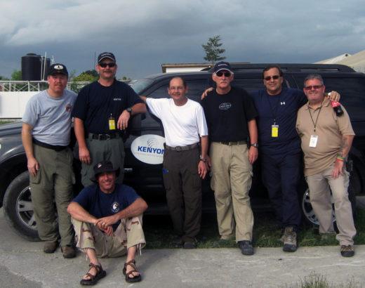 Haiti Earthquake Kenyon Team Members 2010